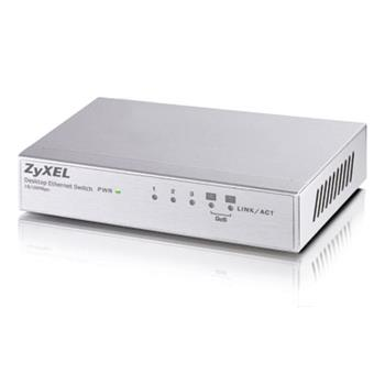ZyXEL 5x10/100 QoS switch (metal housing) ES-105A